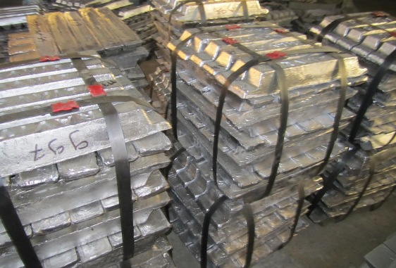 Lead ingots, Pure Lead