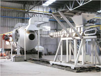 Rotary Furnace with Furnace Charging Machine